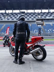 One Bike, one Rider.